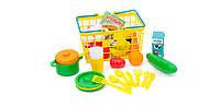 """Орион Корзинка """"Супермаркет"""" с продуктами и посудой  Арт 379в5"""