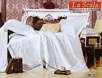Комплект постельного белья шелковый жаккард La scala JP-02