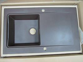 Мойка кухонная гранитная Deante Modern 1В1D (коричневый металлик)