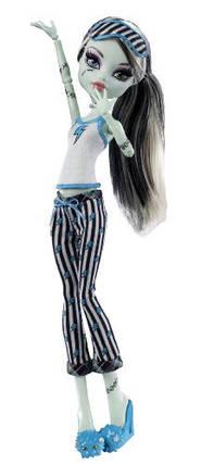Кукла Монстер Хай Фрэнки Штейн Смертельно уставшие Monster High Dead Tired Frankie Stein Doll, фото 2