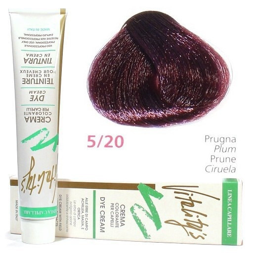 5/20 Слива VITALITY'S Collection Фарба для волосся з екстрактами трав, 100 мл