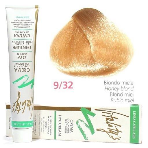 9/32 Медовий блондин VITALITY'S Collection Фарба для волосся з екстрактами трав, 100 мл