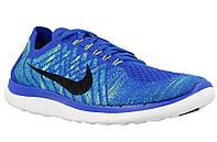 Мужские беговые кроссовки Nike Free 4.0 Flyknit 717075-400, фото 1