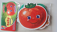 Беби пазлы мягкие Овощи