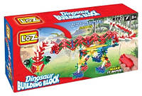 Серия Динозавры: LOZ Dinosaur Building Block A0001 Электро-механический конструктор 249 дет.