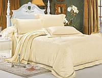 Комплект постельного белья шелковый жаккард La scala JT-21