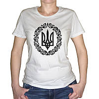 "Жіноча футболка ""Герб України"""
