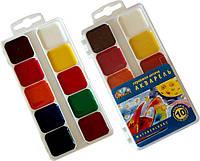 Краски акварельные Гамма 10 цветов