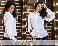 Блузка с разрезами на  рукавах 4019, фото 1