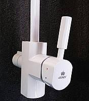 Смеситель для кухни под фильтр Kaiser Decor белый  40144-10