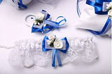 Набор свадебный Flowers blue, фото 3
