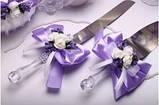 Набор свадебный Flowers purple, фото 4