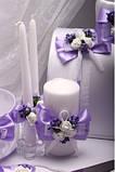 Набор свадебный Flowers purple, фото 6
