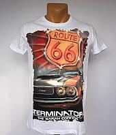 Чоловіча футболка Route 66 - №1441
