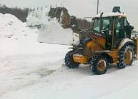 Прибирання території від снігу