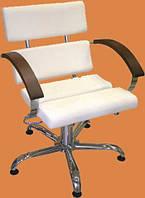 Кресло для парикмахерской Гала в эксклюзивном кожзаменителе