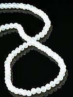 4 мм., Бусины из чешского хрусталя, стекла 45 см. 025395 гамма: Голубой фурнитура для создания украшений и бижутерии
