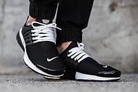 Мужские кроссовки Nike Air Presto Breathe Black White
