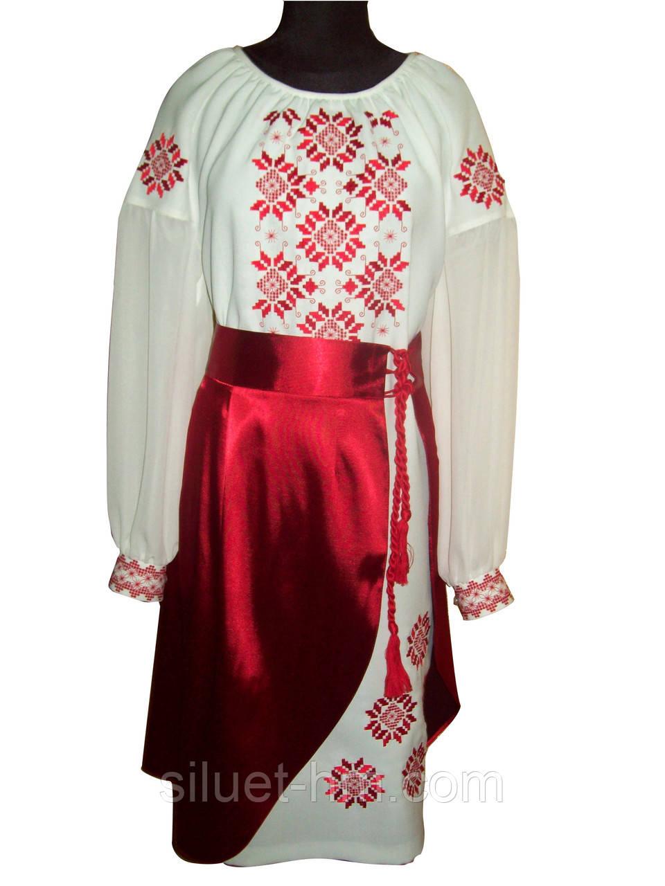 """Платье украинское народное """"Рождественская звезда"""""""