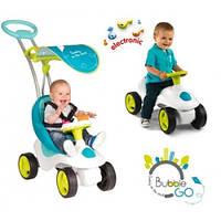 Детская машинка-каталка Bubble Go Blue Smoby 413000