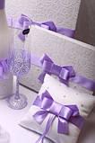 Набор свадебный Purple bow, фото 4
