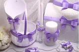 Набор свадебный Purple bow, фото 6