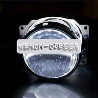 БЕЛЫЕ Дьявольские Глаза 360 для подсветки любых линз / 360 Devil Eyes Rings for Projector Lens (WHITE)