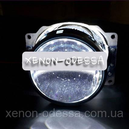 БЕЛЫЕ Дьявольские Глазки для подсветки любых линз / Devil Eyes Rings for Projector Lens (WHITE), фото 2