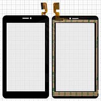Touchscreen (сенсорный экран) для Explay D7.2 3G, 30 pin, оригинал (черный)