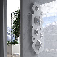 Дизайн радиатор Hotech BLOOM цвет White, фото 1