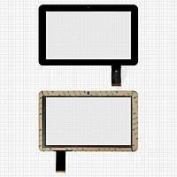 Touchscreen (сенсорный экран) для DNS AirTab E102, 50 pin, оригинал (черный)