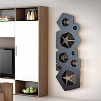 Дизайн радиатор Hotech BLOOM цвет Black, фото 1