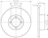 5201-01-0085 = DF1609 = TX 92010700 Тормозной диск 4MAX