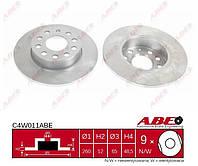 C4W011ABE = PL 5858 = DDF1276 Тормозной диск JC Octavia A5