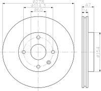 R3013 Тормозной диск VALEO PHC