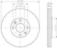 LPRP1003V = PL V091 = 24.0126-0120.1 Тормозной диск