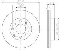 OPT BS-7844 = LM 31513 01 = DDF1521 Тормозной диск OPTIMAL