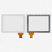Touchscreen (сенсорный экран) для Cube U9GT4, 54 pin, оригинал (белый)
