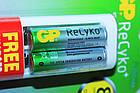 Зарядное устройство GP Power Bank  АА-ААА плюс 2 аккумулятора AA 2100мА-ч, фото 5