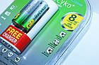 Зарядное устройство GP Power Bank  АА-ААА плюс 2 аккумулятора AA 2100мА-ч, фото 6
