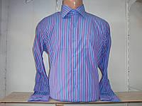 Мужская рубашка с длинным рукавом в полоску Secolo