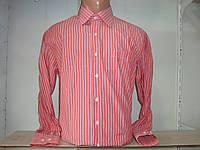 Классическая мужская рубашка с длинным рукавом в полоску Secolo