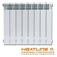 Радиатор отопления 500/96 биметаллический HeatLine Extreme