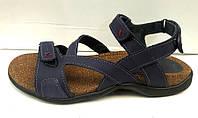 Босоножки мужские кожаные синие, черные, коричневые, бежевые Uk0259