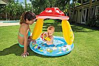 Надувной детский бассейн с навесом Замок Intex 57122 Royal Castle Baby Pool (от 1 до 3 лет)