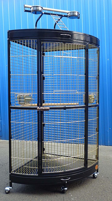 Вольер для попугаев Золотая клетка А13B GOLD