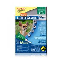 Hartz UltraGuard Plus капли (4 в 1) для собак 2 кг - 6 кг (3 пипетки)