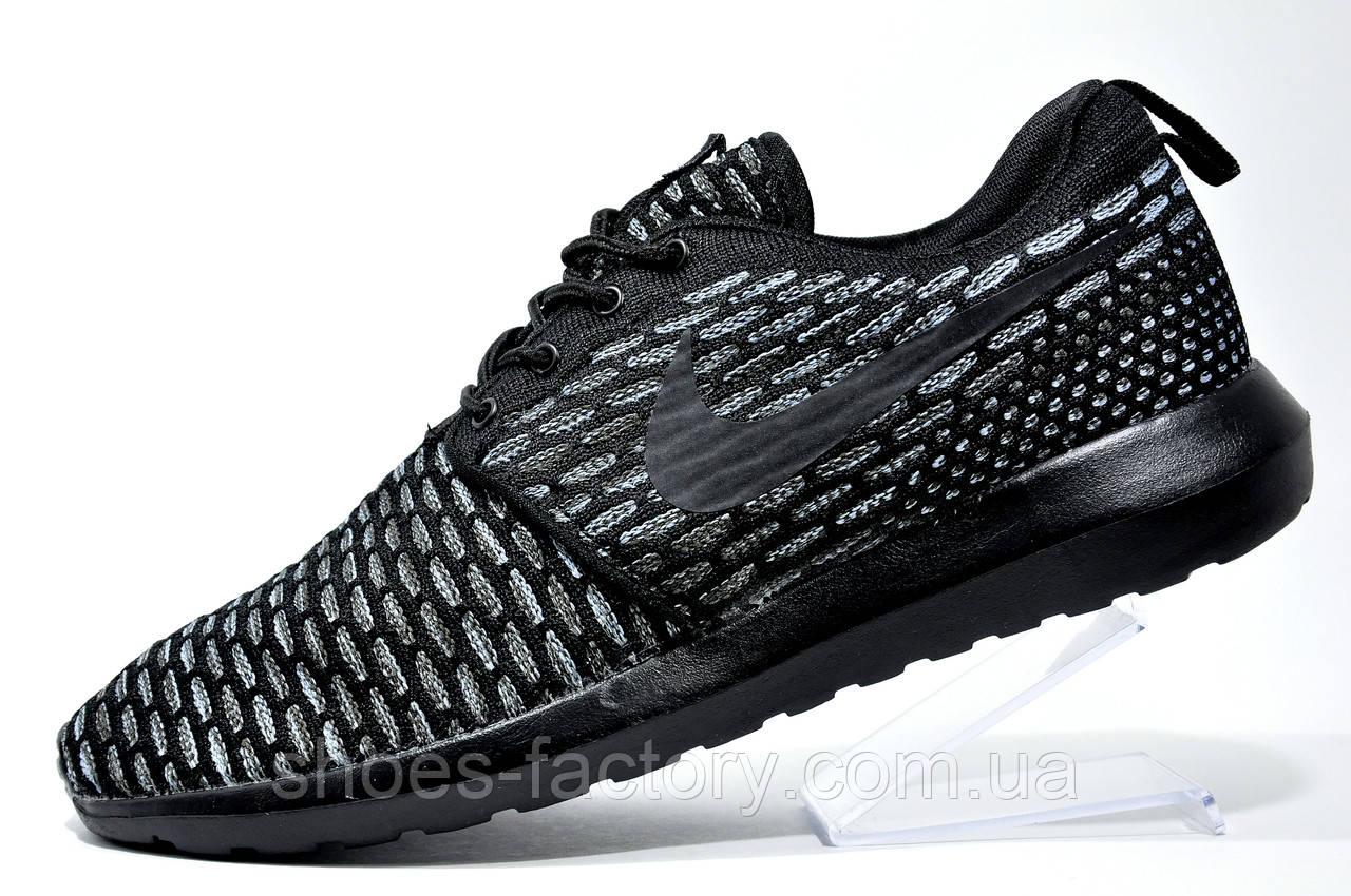 Кроссовки мужские в стиле Nike Roshe Run Flyknit