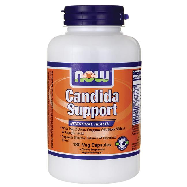 Лечение кандидоза и дисбактериоза - Кандида суппот (Candida Support), 180 капсул - Красивая фигура в Киеве