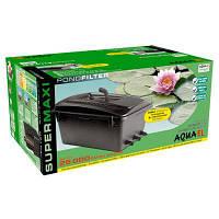 Фильтр прудовый Aquael Super Maxi, проточный для пруда до 25000 л (102466 /0173)+Доставка бесплатно